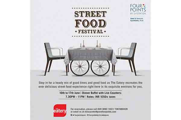 Spice up your taste buds with Finger licking Street Food at the Street Food Festival @Four Points by Sheraton Pune