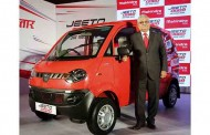 Mahindra launches Jeeto Minivan to redefine last mile transportation