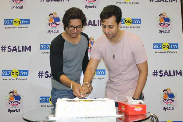 A MUSICAL TWIST TO THE FRIENDSHIP DAY CELEBRATIONS AT 92.7 BIG FM WITH SHAAN & SALIM MERCHANT