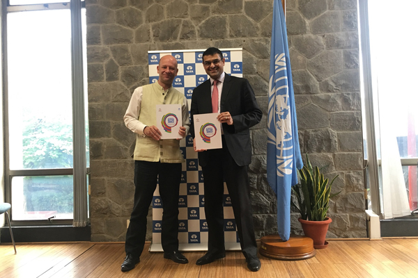 """""""We Dream of a Better World"""" - Tata group launches report on its contribution towards the Sustainable Development Goals"""