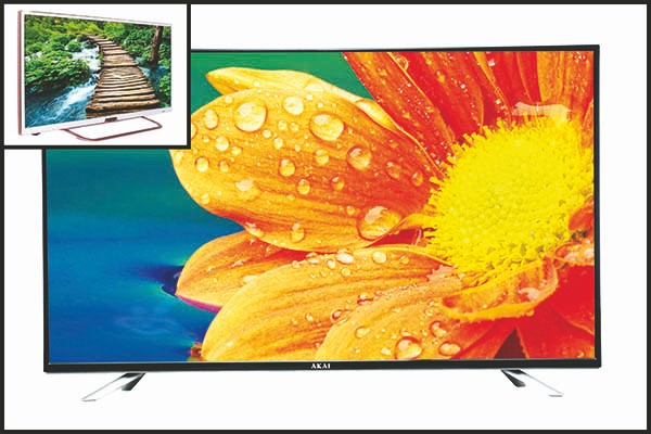 AKAI brings in the hallmark of Japanese technology with 50 inch 4K ULTRA HD Smart LED TV
