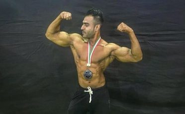 Fahad khan, a freelance fitness trainer from Pune seizes the 6th position in Amateur Olympia Classic Bodybuilding above 181 cms Plus Category