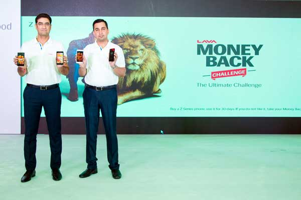 LAVA launches new range of Z series smartphones; disrupts the industry with the first-ever Money Back Challenge