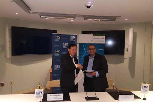 AFC signs Master Cooperation Agreement with International Finance Corporation
