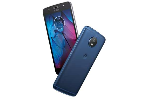 Motorola launches the new Blue Moto G5S