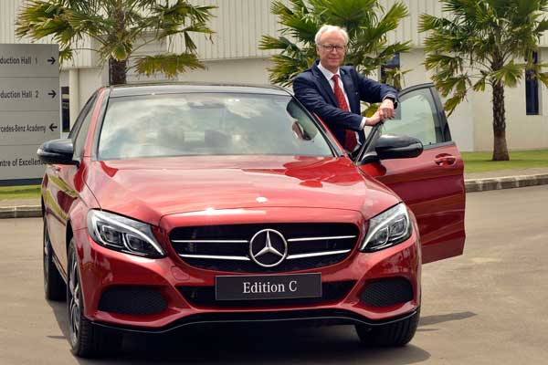Mercedes-Benz introduces the sporty and dynamic C-Class 'Edition C'