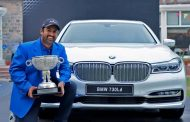 BMW stands out as the 'Luxury Mobility Partner' at the Panasonic India Open 2017.
