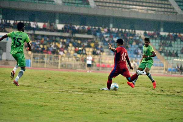 Gaurs finish pre-season in style with 4-0 victory over Chennai City FC