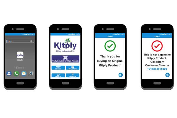 Kitply becomes world's first plywood brand to launch QR code enabled app to verify genuine products