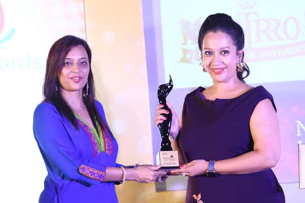 Nitrro Bespoke Fitness honoured with coveted 'Best Gym of the Year in India', at the 3rd Nutrition & Wellness Awards 2017