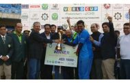India lifts the world cup at the 5th ODI Blind Cricket World Cup