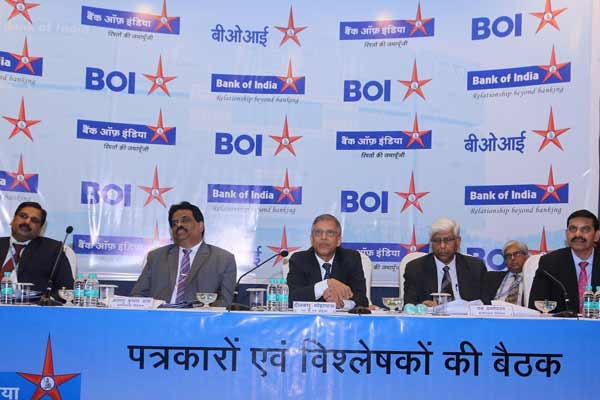 BANK OF INDIA Q3 FY18 OPERATING PROFIT AT Rs.1,354 crore