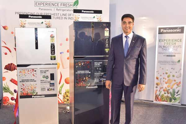 Experience Freshness with Panasonic's new range of intelligent inverter Refrigerator with ECONAVI