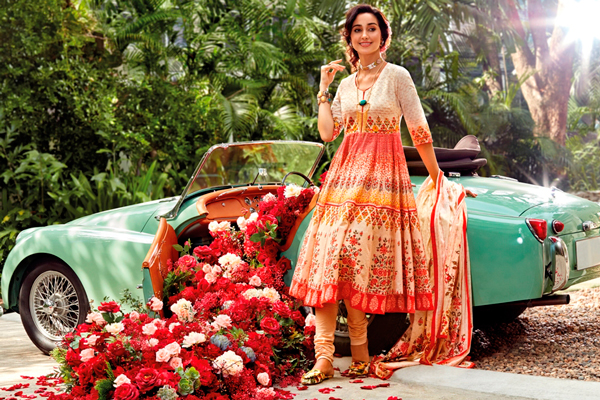 Welcome Ugadi with BIBA's vibrant floral SS'18 collection