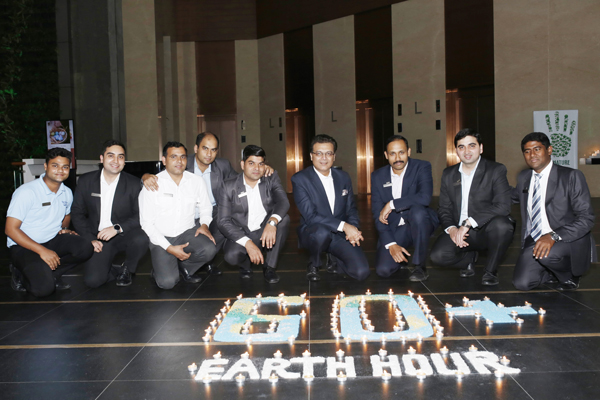THE WESTIN HYDERABAD MINDSPACE SUPPORTED THE WORLDWIDE EARTH HOUR MOVEMENT