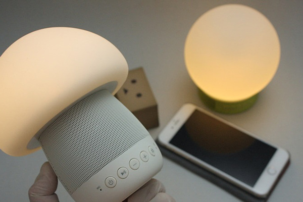 Emoi Smart Touch Lamp Bluetooth Speakers, launched in India