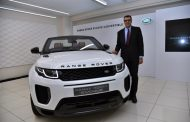 LAND ROVER LAUNCHES INDIA'S FIRST LUXURY SUV CONVERTIBLE – THE RANGE ROVER EVOQUE CONVERTIBLE