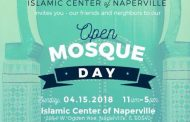Open Mosque Day for all Faiths on Sunday, April 15th, 2018 at Islamic Center of Naperville