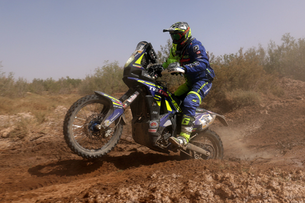Sherco TVS Factory Rally Team continue their solid performance