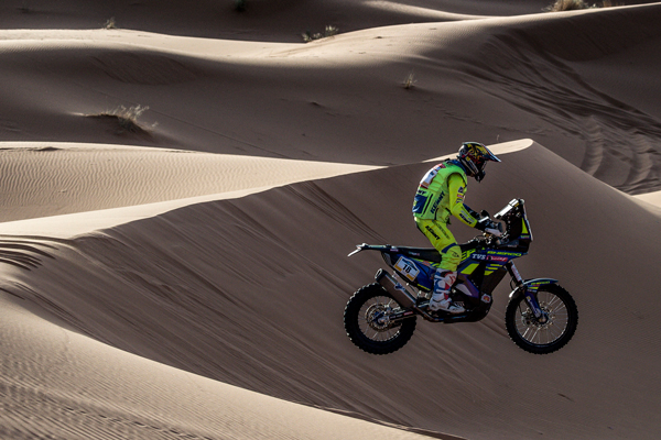Sherco TVS Factory Rally Team Maintain Solid Show