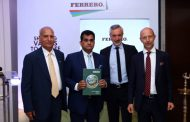Hon'ble C.E.O of Niti Ayog, Shri. Amitabh Kant, Unveils the Ferrero Group's 8th CSR report in India