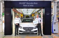 Mercedes-Benz reaches another milestone in India; rolls out its 100,000th car in India