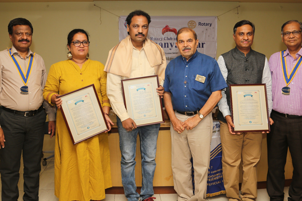  Rotary honors social work and professional excellence