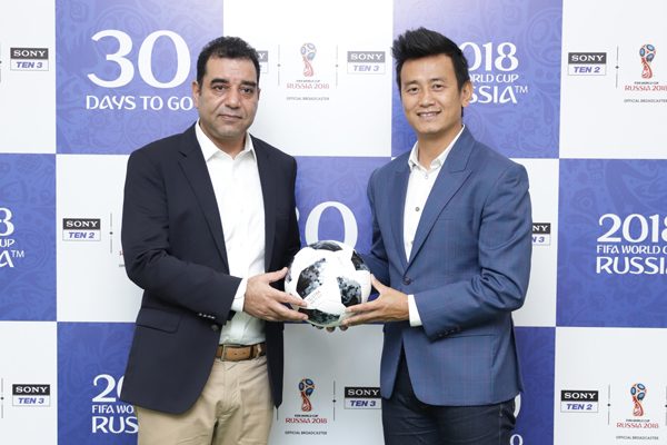 Indian fans all-set to cheer for #MeriDoosriCountry with the unveiling of 2018 FIFA World Cup Russia on Sony Pictures Networks in four languages