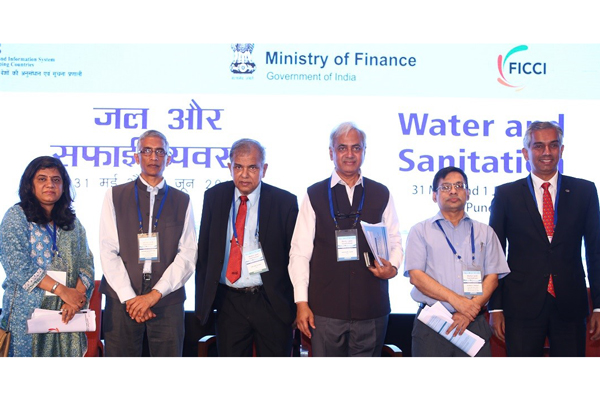 Ministry of Finance, RIS and FICCI THEMATIC SEMINAR on Water and Sanitation kicks off in Pune