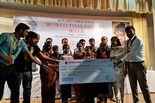 Round Table India adopts four under privileged children suffering from Thalassemia
