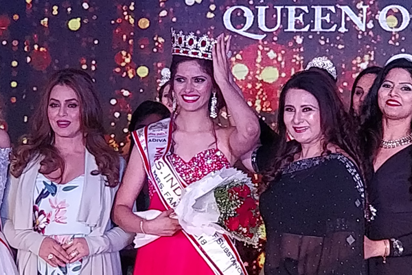 Shivani Naik Shah, City girl wins the prestigious crown of Mrs India Queen of Substance 2018, a pageant for honouring women achievers of Indian origin