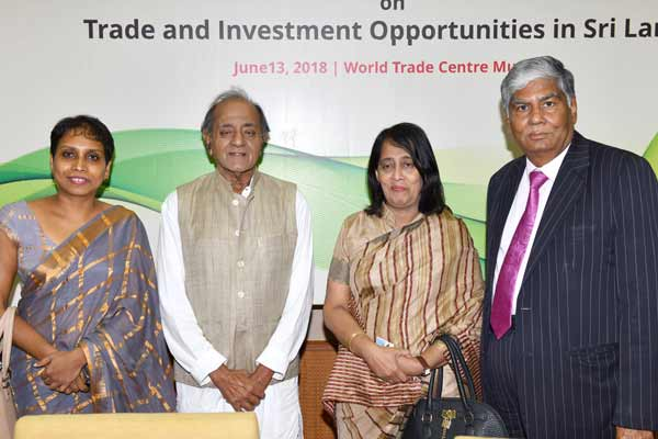 Sri Lanka's Vision 2025 offers ample opportunities for Indian businesses, says H.E. Mrs. Wagiswara