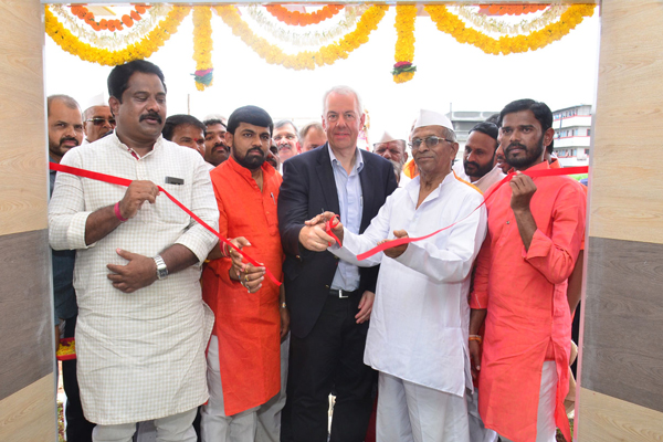 Volkswagen India builds an environment-friendly primary school for children in Phadke-Wasti, Nighoje in Chakan, Pune