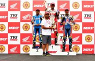 Honda rider Rajiv Sethu creates new record, leads National Championship with 2 wins in Round 2