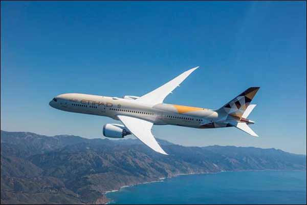 ETIHAD AIRWAYS TO INTRODUCE BOEING 787 DREAMLINER TO MOROCCAN CAPITAL RABAT