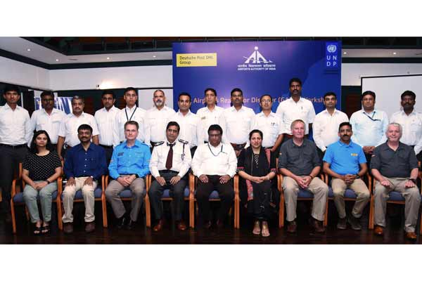 Deutsche Post DHL Group and the United Nations Development Programme scale up airport disaster preparedness training in India