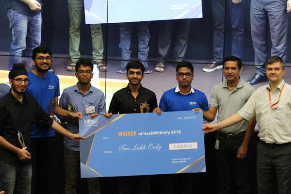 Infosys Successfully Concludes #HackWithInfy India 2018