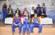 Mercedes-Benz is the first luxury car maker to commence an all-women Mechatronics course in India; inks MoU with Maharshi Karve Stree Shikshan Samstha (MKSSS)