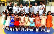 3BL Stars Inderbir Gill, Timajh Parker-Rivera, Eban Hyams and Kiran Shastri and more coached students in Bengaluru