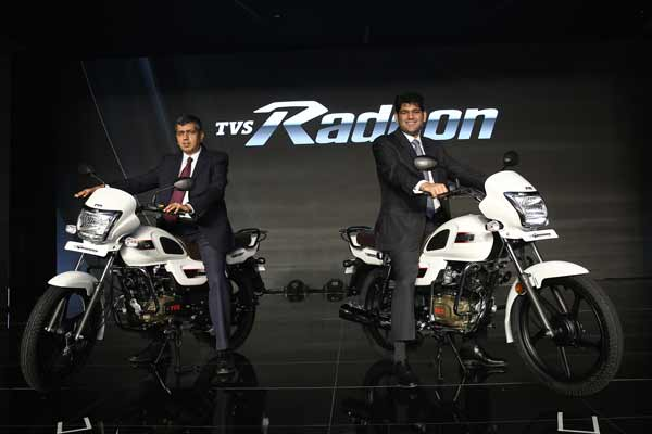 TVS Motor Company strengthens its commuter motorcycle portfolio with the launch of TVS Radeon