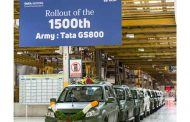Tata Motors celebrates the roll-out of its 1500th GS800 Safari Storme for the Indian Army