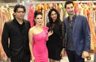 Reshma and Riyaz Gangji of Libas Stores joined hands with Sunny Leone for the launch of Starstruck by SL cosmetic brand at R city mall Ghatkopar