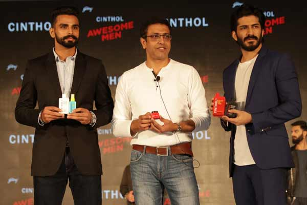 Asian Games Gold Medalist - Arpinder Singh launched Godrej Cinthol's all new men's grooming range