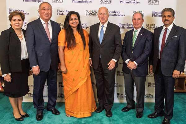 Global Climate Action Summit - Mahindra Group to go Carbon Neutral by 2040
