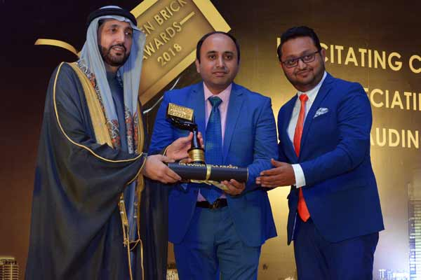 VASCON'S WINDERMERE & GOODLIFE-KATVI PROJECTS WINS ACCOLADE AT GOLDEN BRICK AWARDS 2018