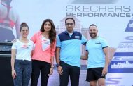 Shilpa Shetty, Sanya Malhotra & Rahul Bose walk for the first edition of Skechers Performance Mumbai Walkathon