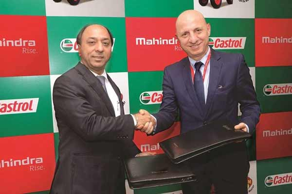 Mahindra Signs Strategic Partnership Agreement with Castrol India