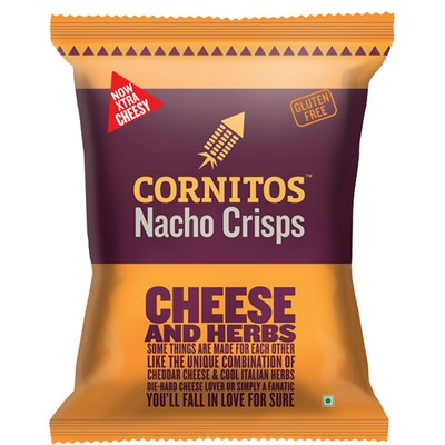 GRAB A BITE OF EXTRA CHEESY CHEESE AND HERBS FROM CORNITOS