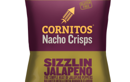 Sizzle your taste buds with Cornitos Sizzling Jalapeno Nacho Crisps