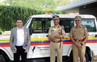 Yohan Poonawalla Foundation adds further strength to the Pune Police by sponsoring a new jeep